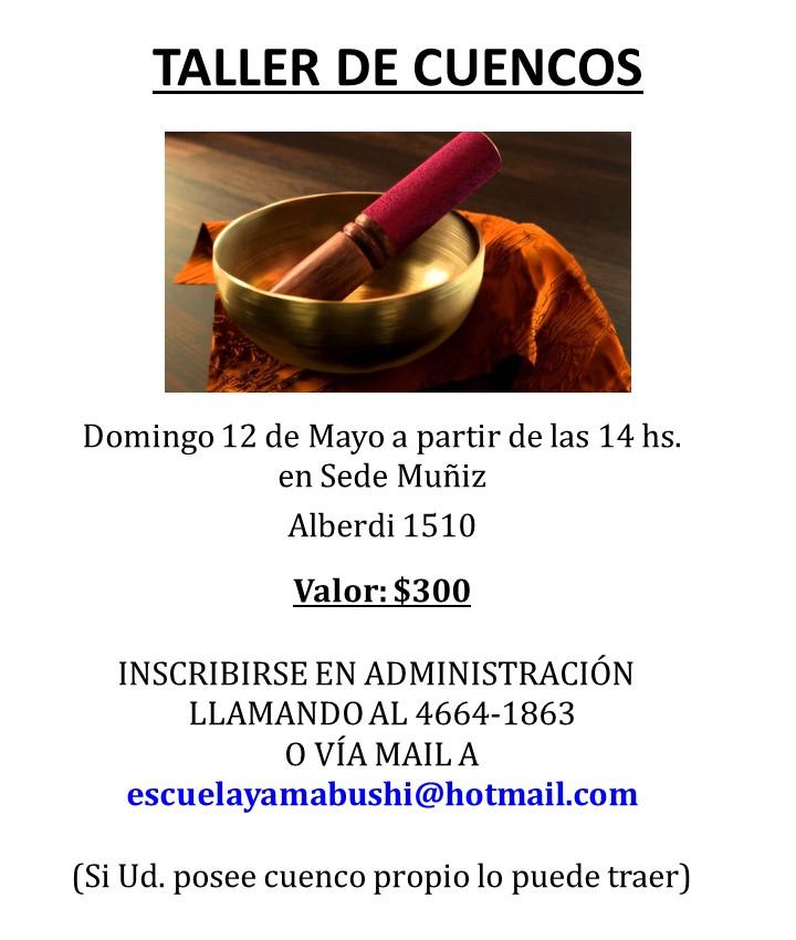 taller cuencos 2019